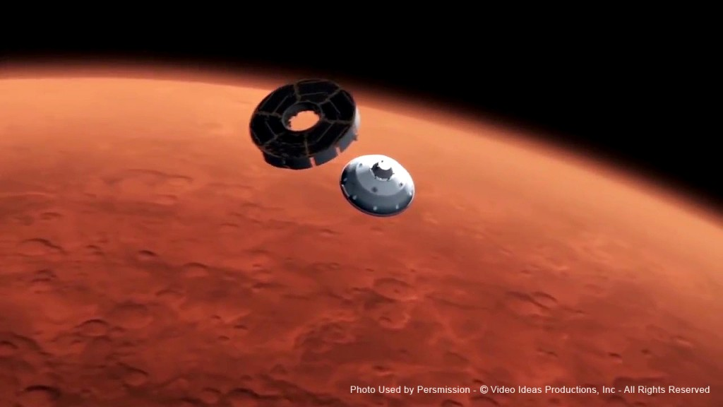 Mars Lander, Film Score In Reverse Series entertains audiences with Voyage of Discovery2 - enhancing a live musical performance with videos and images of space.