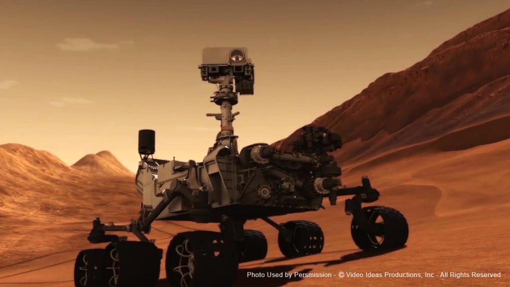 Mars Rover, Film Score In Reverse Series entertains audiences with Voyage of Discovery2 - enhancing a live musical performance with videos and images of space.