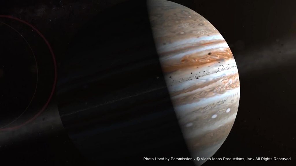 Planet Jupiter, Film Score In Reverse Series entertains audiences with Voyage of Discovery2 - enhancing a live musical performance with videos and images of space.