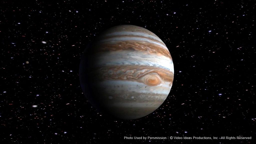 Planet Jupiter-Film Score In Reverse Series entertains audiences with Voyage of Discovery2 - enhancing a live musical performance with videos and images of space.