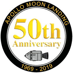50th Anniversary of the Moon Landing with Film Score in Reverse